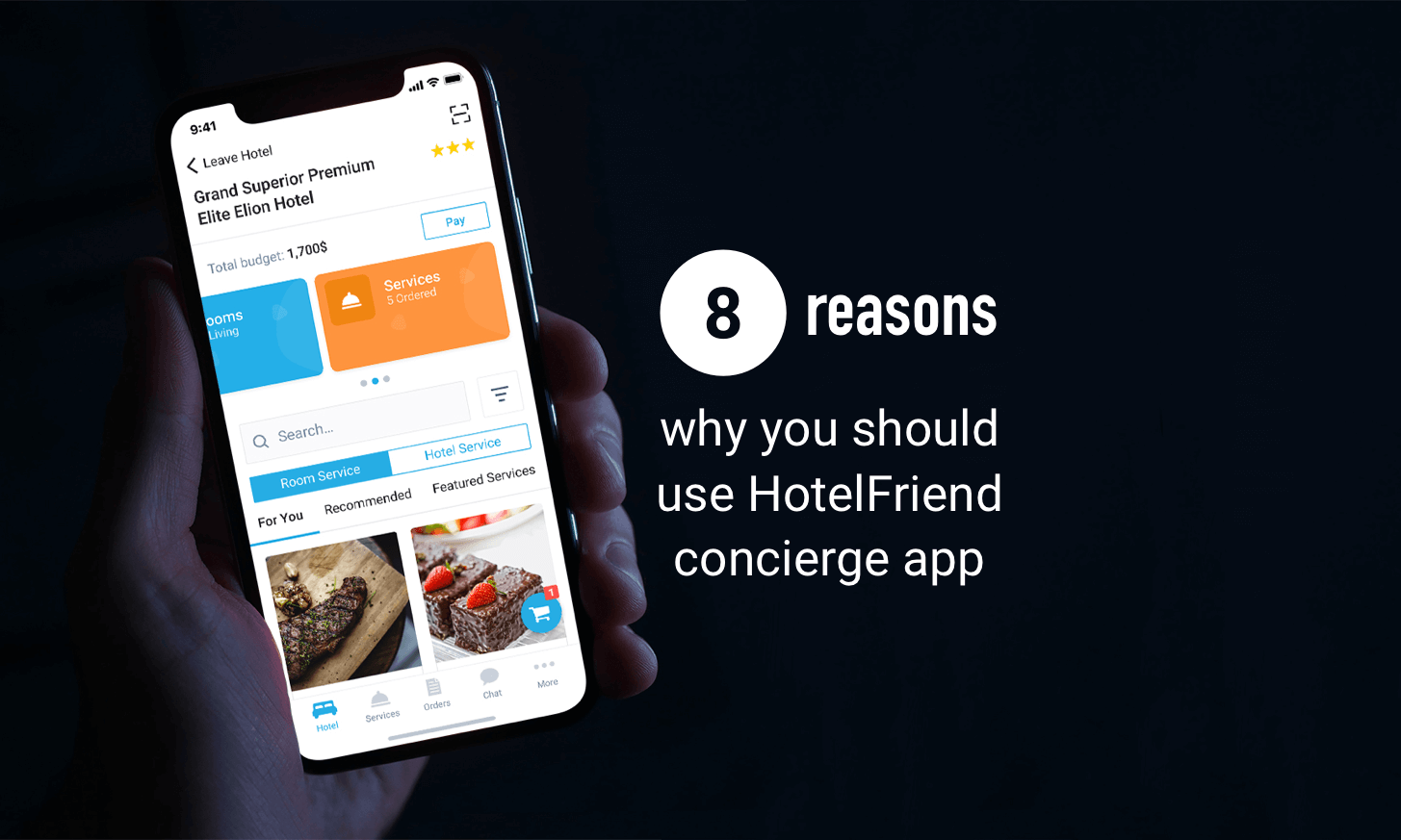 8 reasons why you should use HotelFriend Hotel Concierge Guest App
