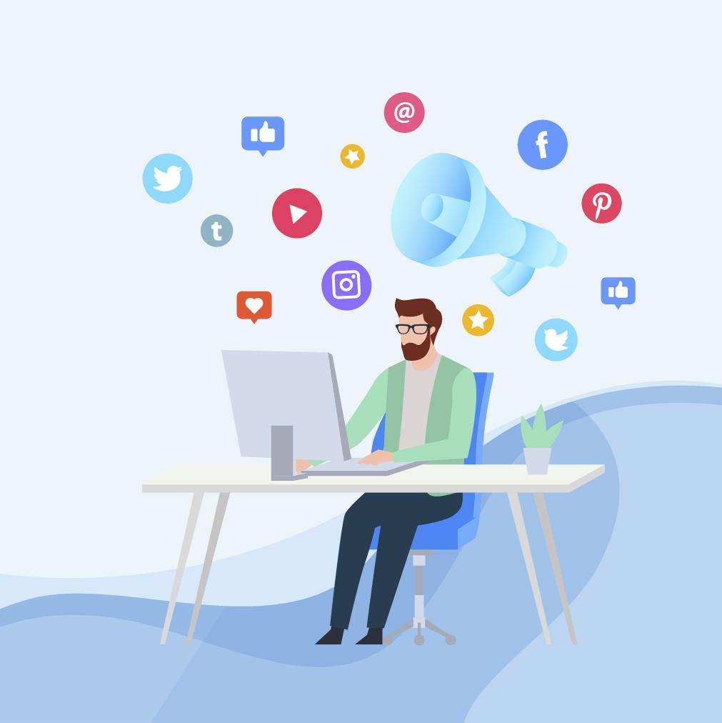 Soziale Medien & Co.