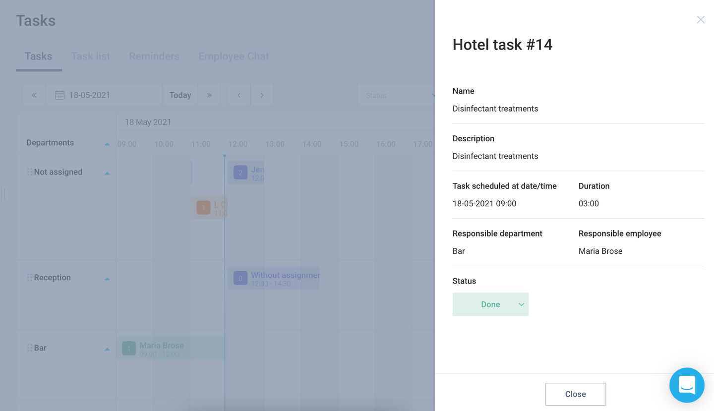 RAdded Task scheduler to Tasks module with such features