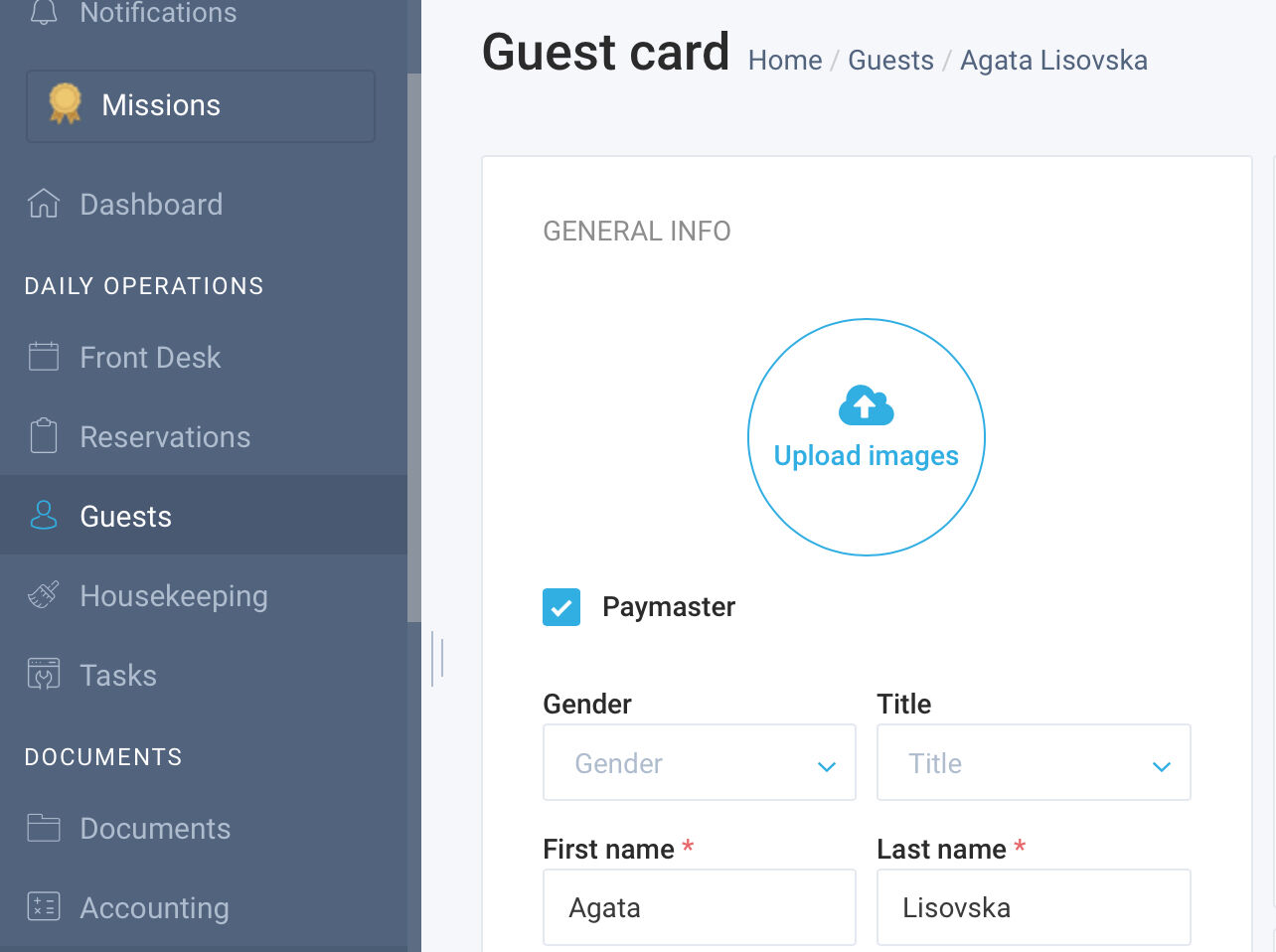 Added a new feature for managing billing items which makes checking out reservations more flexible