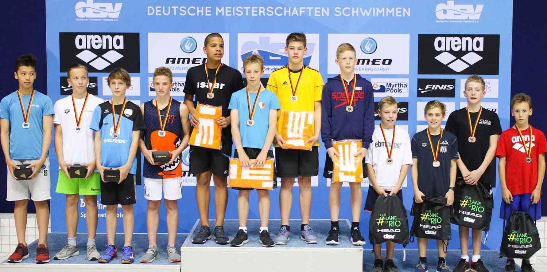 SSG Leipzig gewinnt 2x Rückenschwimmen Gold in Berlin - HotelFriend