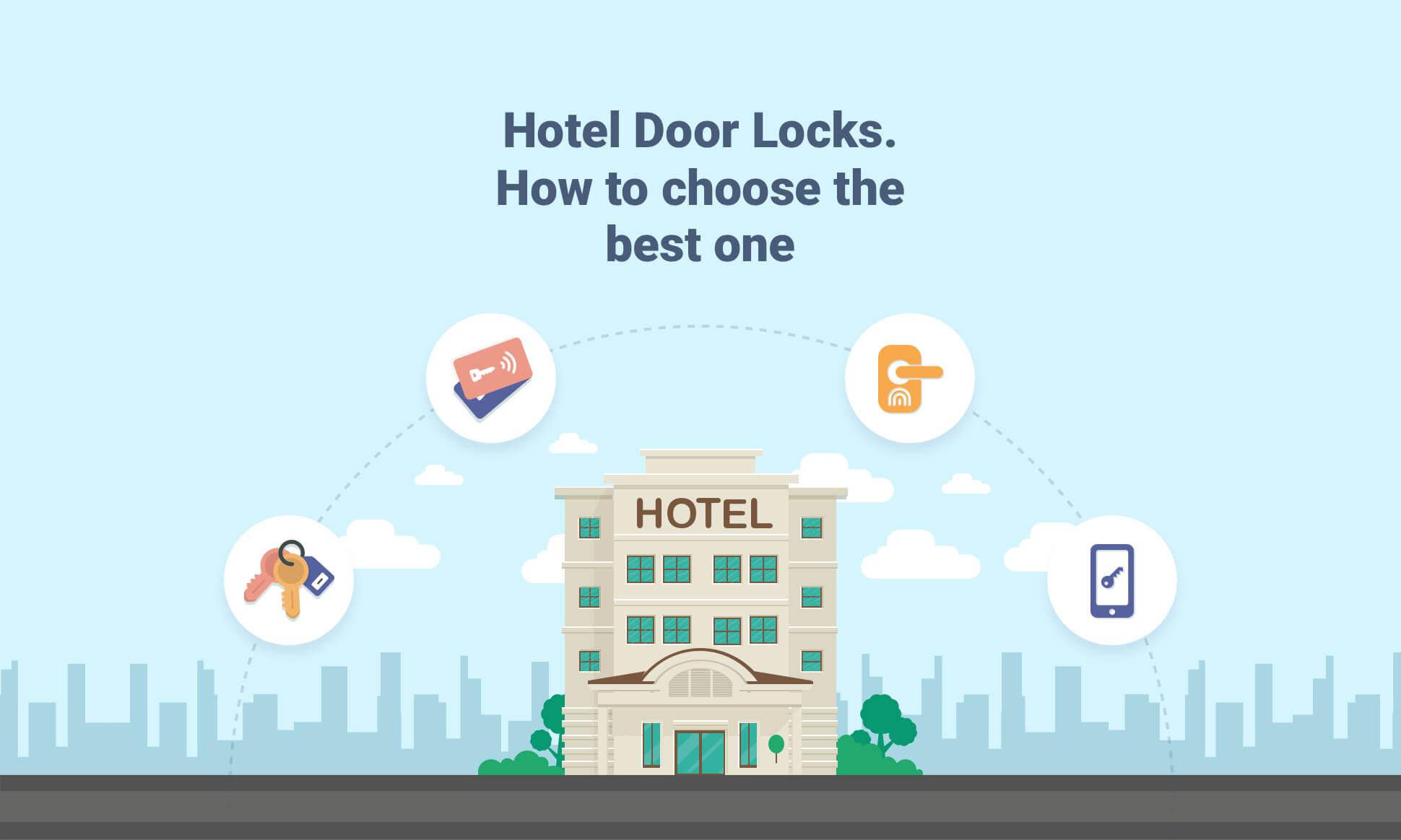 انواع قفل هتلی