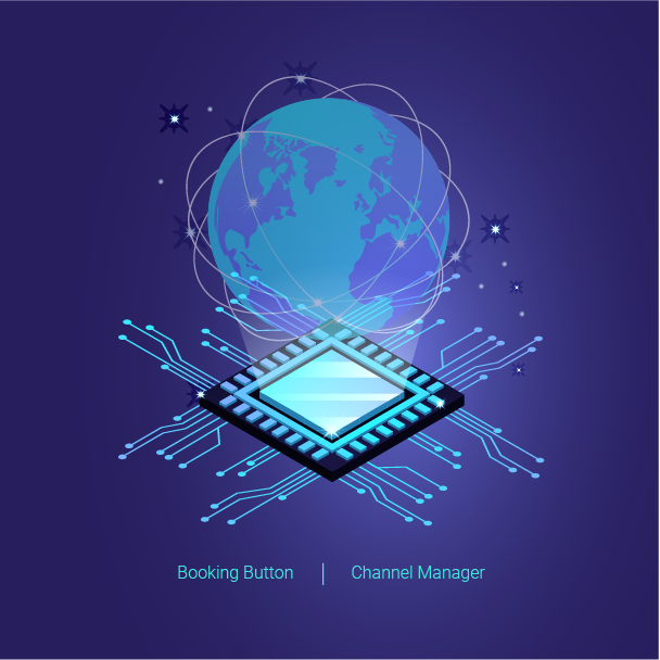 Channel Manager, Booking Button