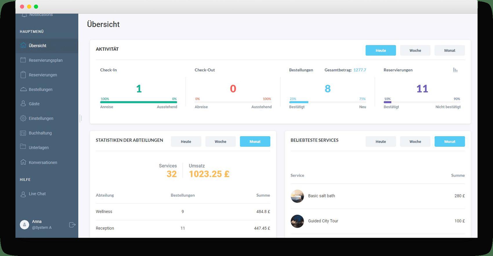 Live Chat - HotelFriend Portal