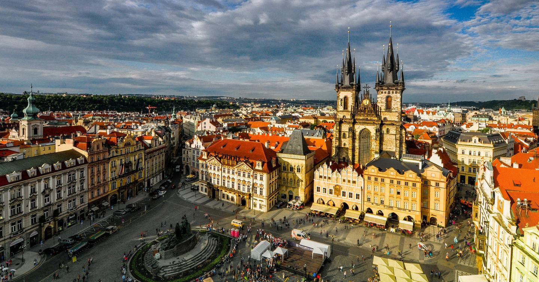 Die großartige alte Stadt von Prag