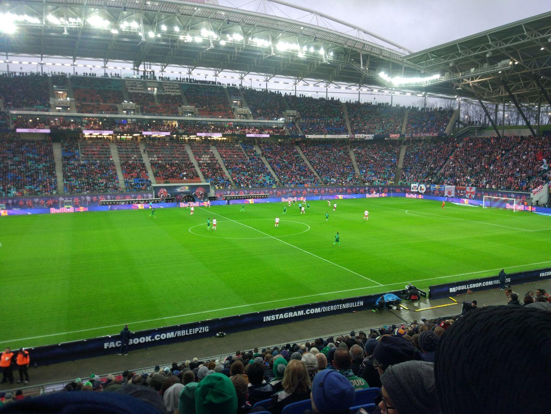 RB Arena Leipzig inside