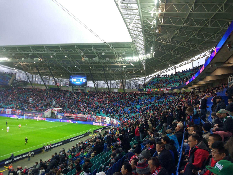 Arena Leipzig stadium tribunes
