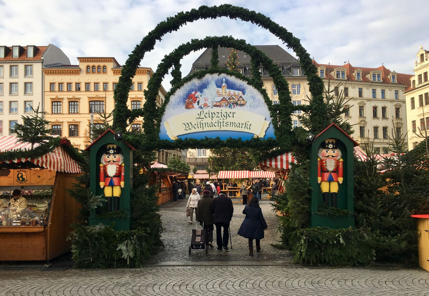 Christmas Market in Leipzig 11.2017
