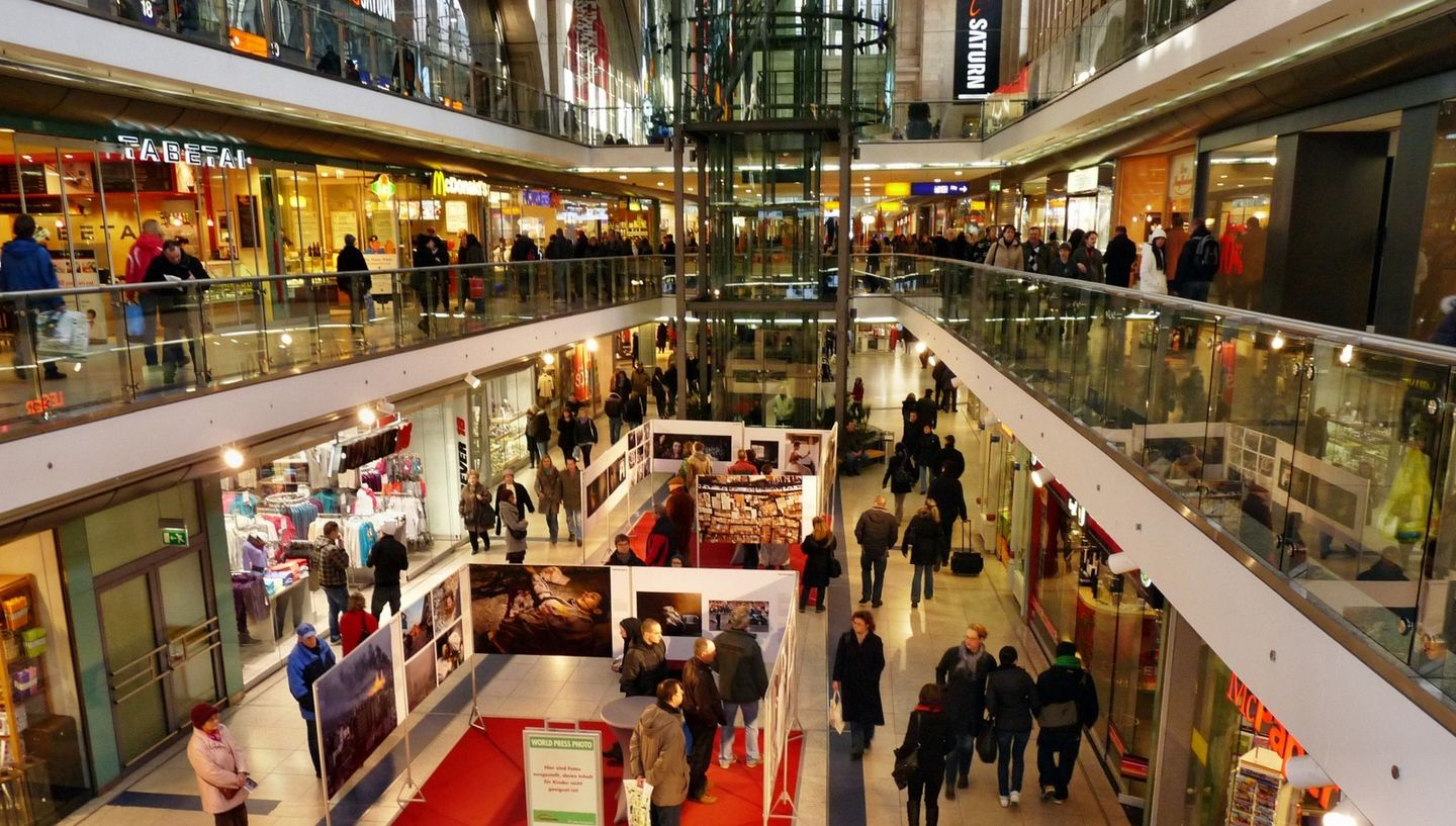 Promenaden Shopping Mall in Leipzig