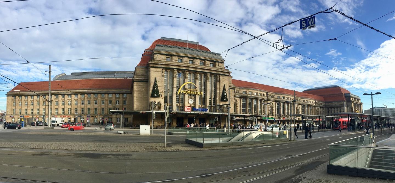 Leipzig Hauptbahnhof panorama