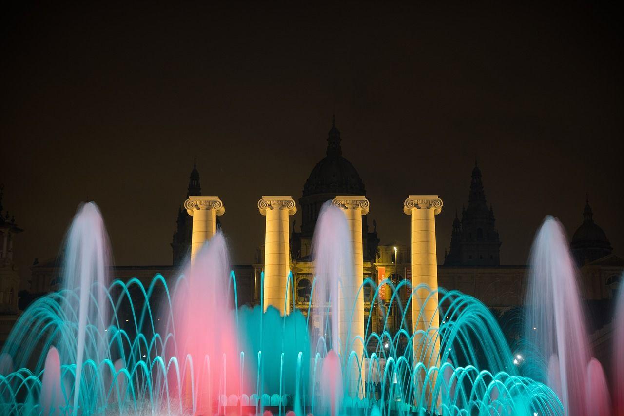 Magischer Brunnen am Montjuïc