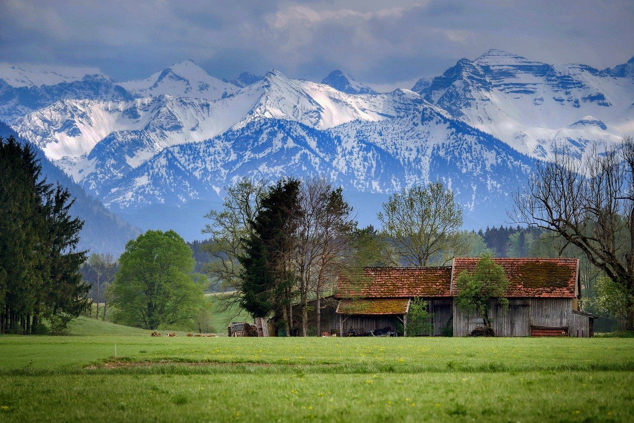 Alps, Bavaria