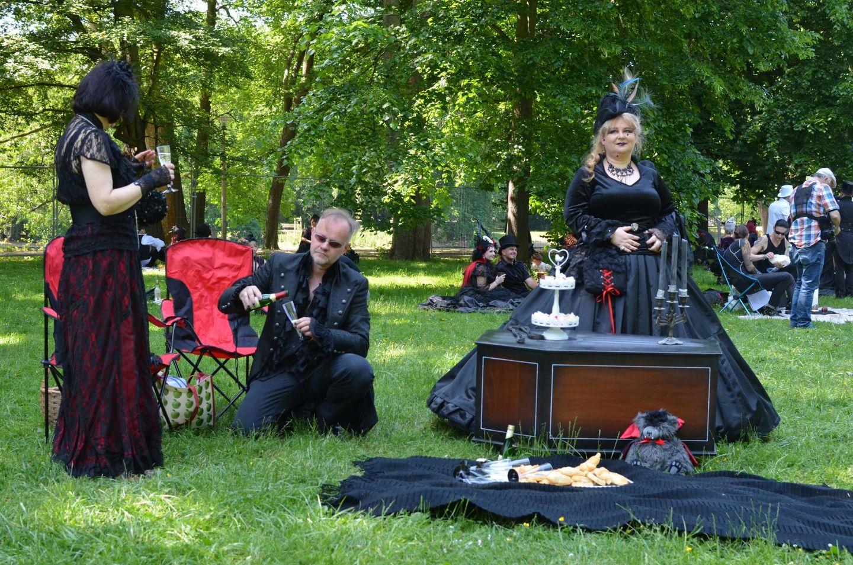 Viktorianisches Picknick Leipzig