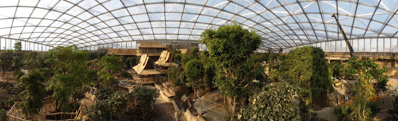 Gondwanaland Panorama Leipzig Zoo
