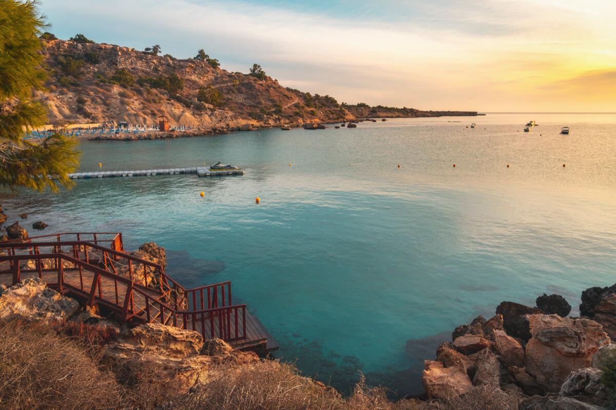 Konnos Beach, Cyprus