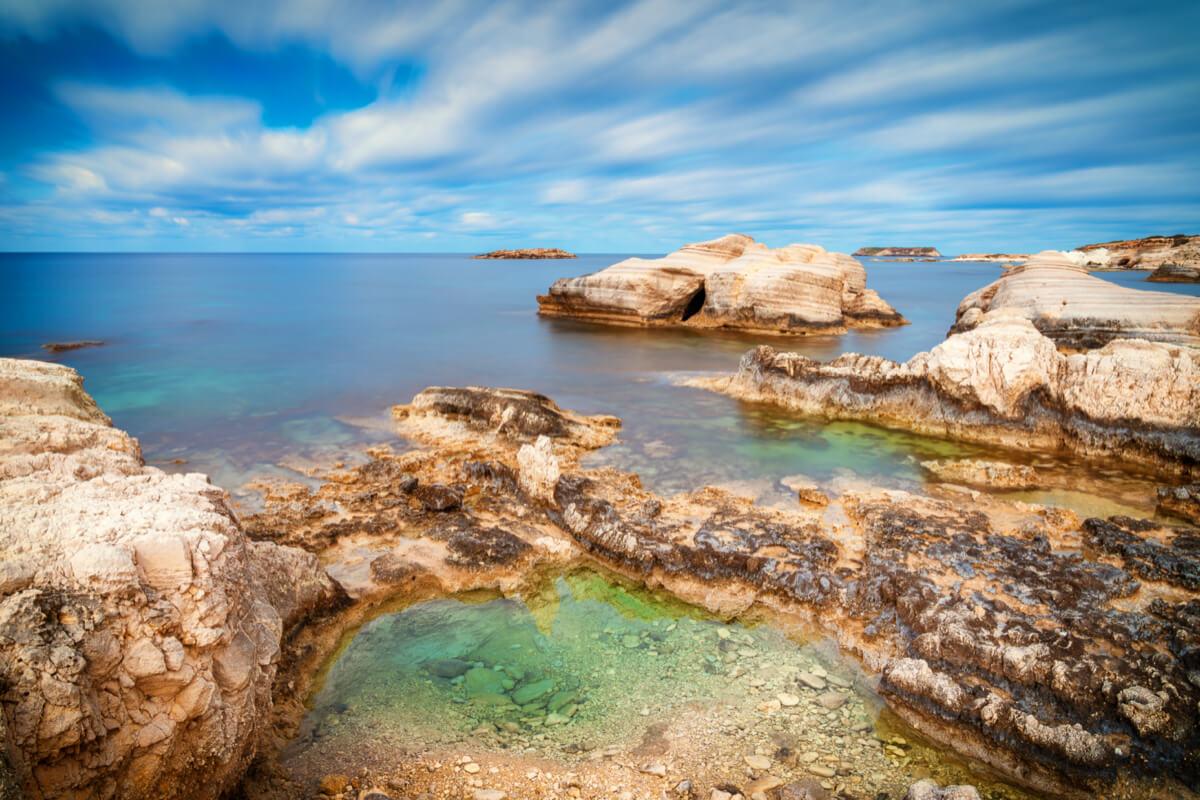 Beach Coral Bay, Cyprus