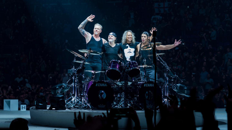 Metallica concert in London 22.10.2017