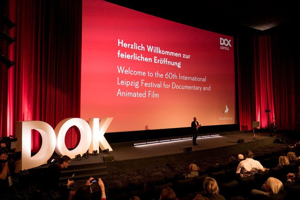 Eröffnungszeremonie von DOK Leipzig 2017