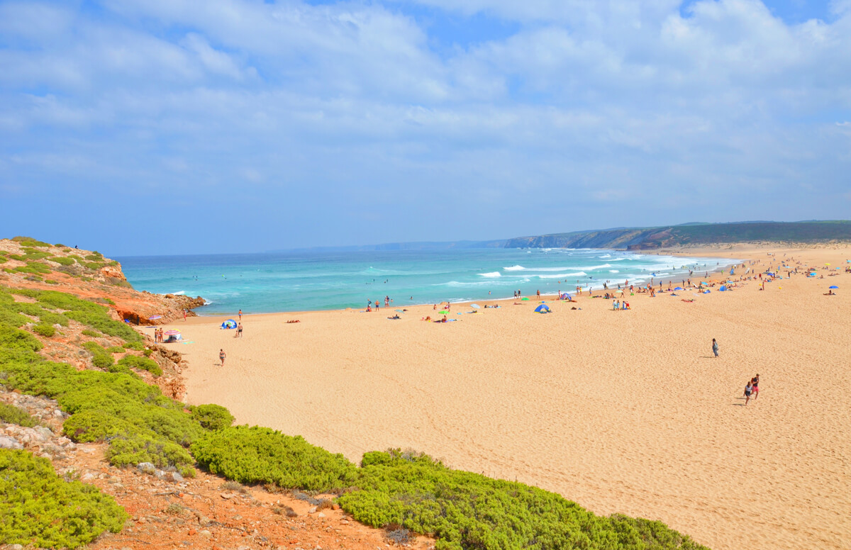 Praia da Bordeira, Carrapateira, Portugal