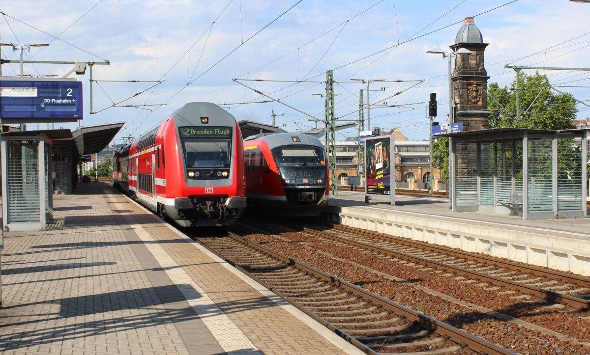 S-Bahn - Flughafen Dresden