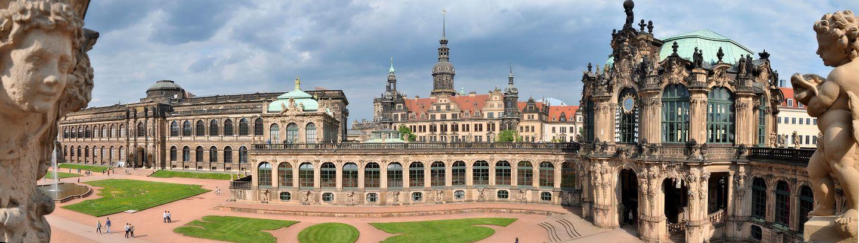 Dresden Zwinger inside