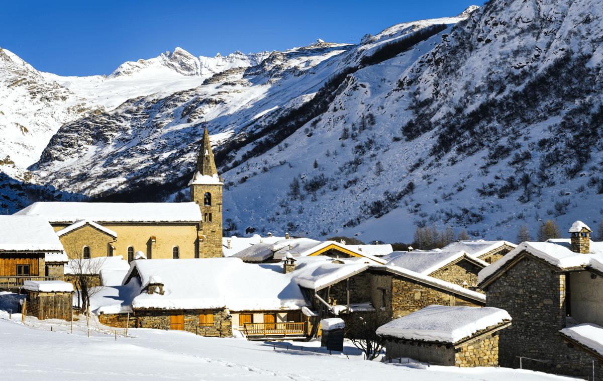 Bonneval sur Arc Ski Resort, France