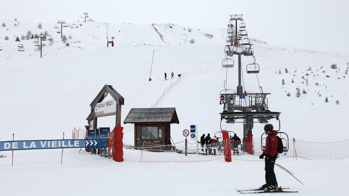 Galibier-Thabor Ski Resort, France