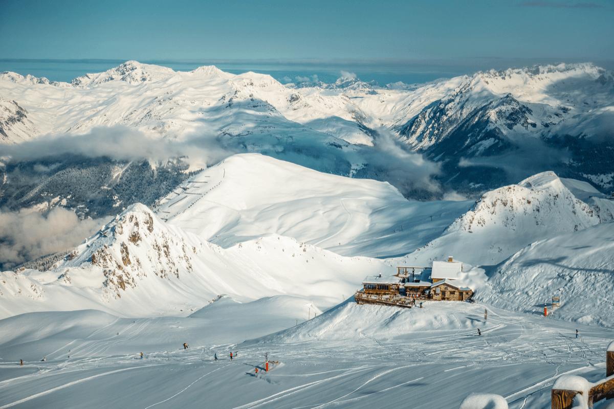 La Plagne Ski Resort, France
