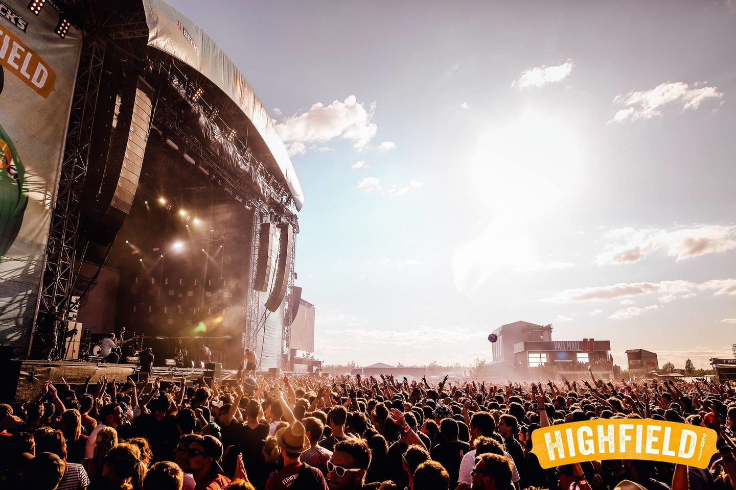 Highfield 2017 atmosphere