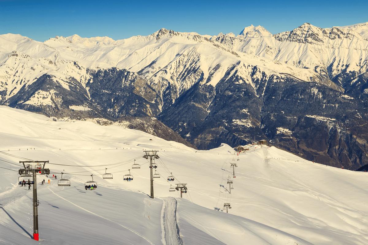 Les Sybelles Ski Resort, France