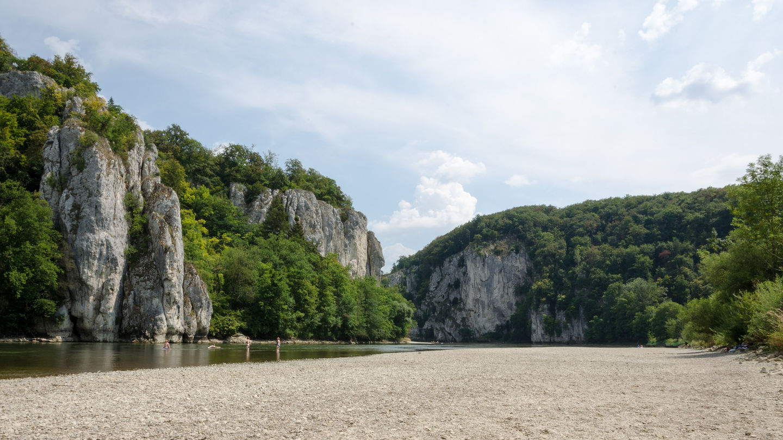 hiking Danube Panorama