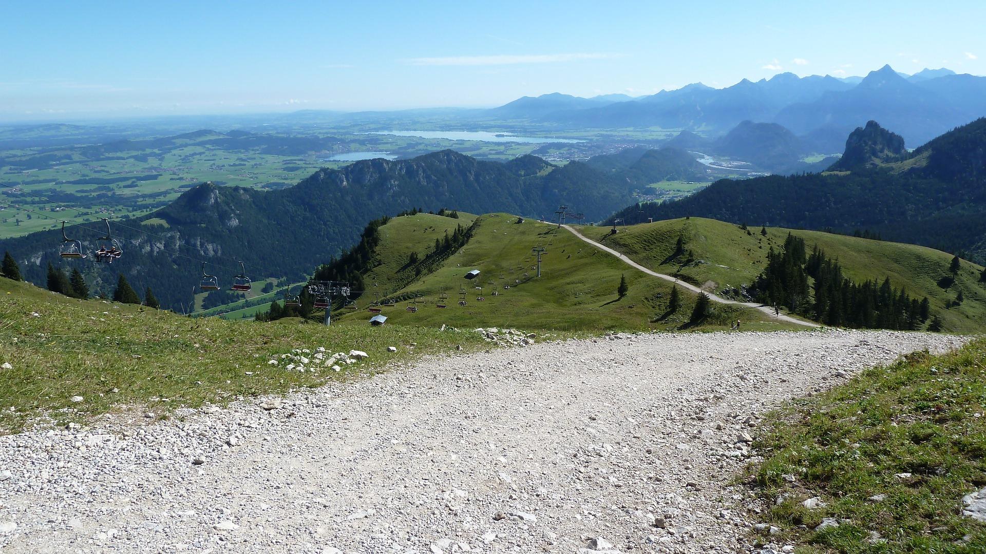 Schaukelweg in Breitenberg